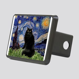 Starry Night /Persian (bl) Rectangular Hitch Cover