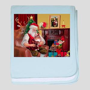 card-Santa1-MCoon12B baby blanket
