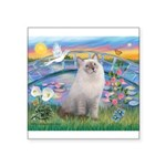 Lilies / Ragdoll Square Sticker 3