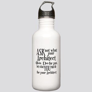Ask Not Architect Stainless Water Bottle 1.0L