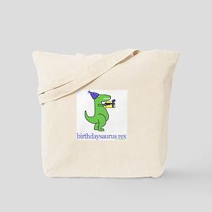 5-year-old Birthdaysaurus Rex Tote Bag