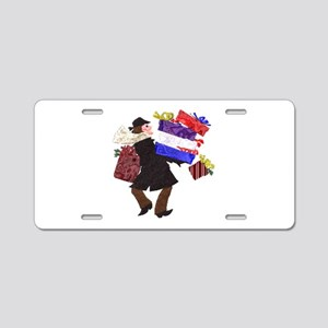 Man With Gifts Aluminum License Plate