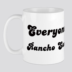 Rancho San Diego girl Mug