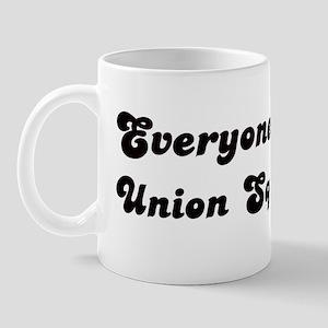 Union Square girl Mug
