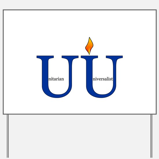 UU Yard Sign