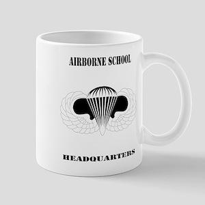 DUI - Airborne School - Headquarters with Text Mug