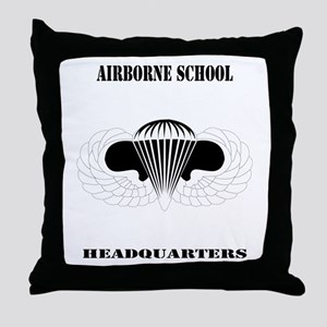 DUI - Airborne School - Headquarters with Text Thr