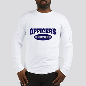 Officer's Brother Long Sleeve T-Shirt