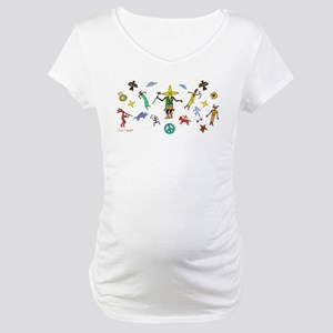 Dance of the Star Beings Maternity T-Shirt