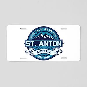St. Anton Ice Aluminum License Plate