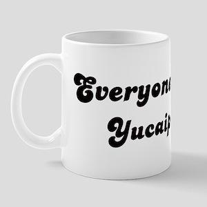 Yucaipa girl Mug