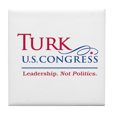 Turk Leadership Tile Coaster