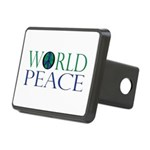 World Peace Rectangular Hitch Cover