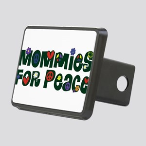 Mommies for Peace Merged Rectangular Hitch Cov