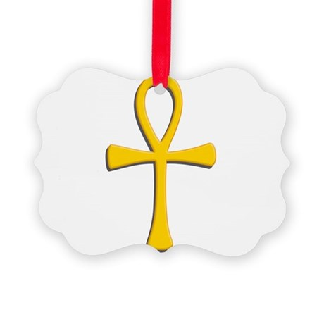 Golden ankh.png Picture Ornament