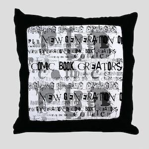 New Gen Creators Throw Pillow