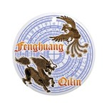 Qilin & Fenghuang Ornament (Round)