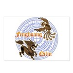 Qilin & Fenghuang Postcards (Package of 8)