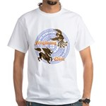 Qilin & Fenghuang White T-Shirt