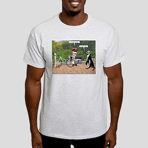 Biking JATO Ash Grey T-Shirt
