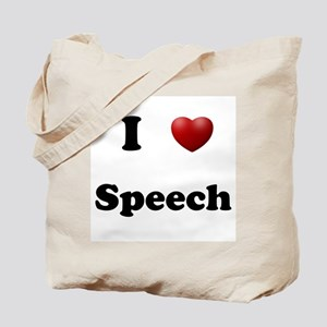 Speech Tote Bag