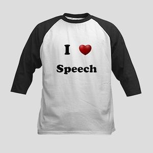 Speech Kids Baseball Jersey