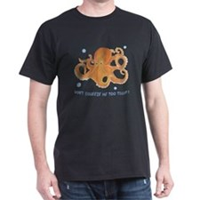Dont Squeeze Me - Octopus Dark T-Shirt