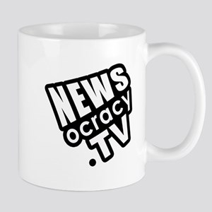 Newsocracy Logo Mug