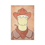 Wanted:Palomino Pony Rectangle Magnet