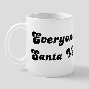 Santa Venetia girl Mug