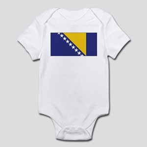 Bosnia Flag Infant Bodysuit