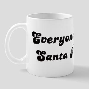Santa Rosa girl Mug