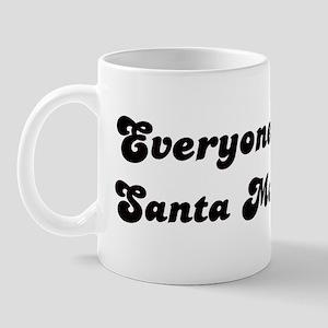 Santa Monica girl Mug