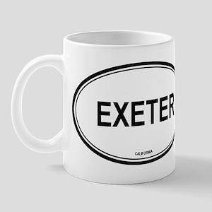 Exeter oval Mug