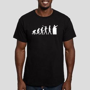 Debater Men's Fitted T-Shirt (dark)