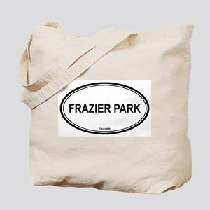 Frazier Park oval Tote Bag