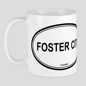 Foster City oval Mug