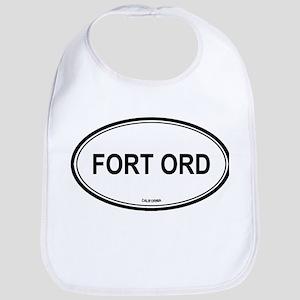 Fort Ord oval Bib