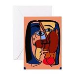 Kisses One Greeting Card