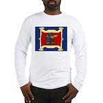 Dachshund Framed by Woman Long Sleeve T-Shirt