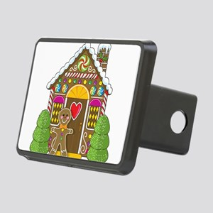 gingerbread house Rectangular Hitch Cover