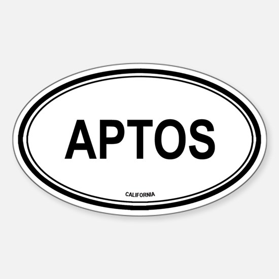 Aptos oval Oval Decal