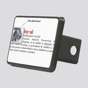 loyal_definition Rectangular Hitch Cover