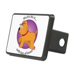 love_mutts Rectangular Hitch Cover