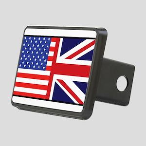 america_britain Rectangular Hitch Cover