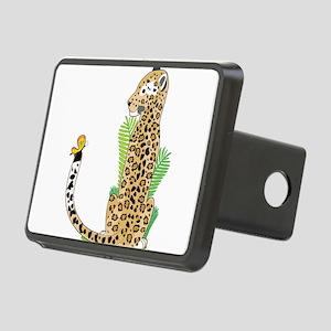 Animal Alphabet Jaguar Rectangular Hitch Cover