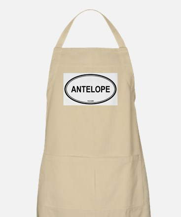 Antelope oval BBQ Apron