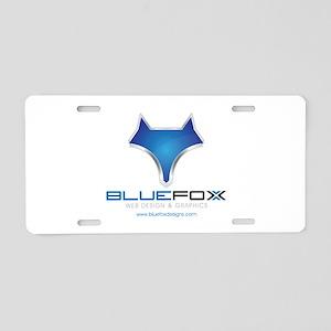 Blue Fox Designs Aluminum License Plate