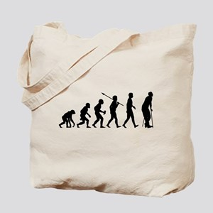 On Crutches Tote Bag
