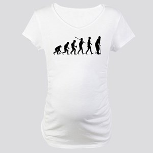 On Crutches Maternity T-Shirt
